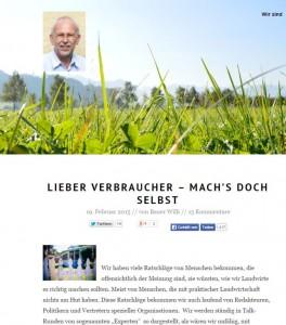 Bauer Willi - Blog