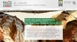 Markt des guten Geschmacks 2015 in Stuttgart