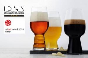 Spiegelau Craft Beer Glasses gewinnen mit International Design Excellence Award (IDEA) Gold die zweite prestigeträchtige Auszeichnung in 2015.