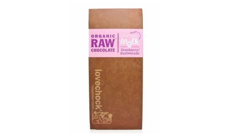 Verkostung – RAW Schokolade Cranberry Buchweizen