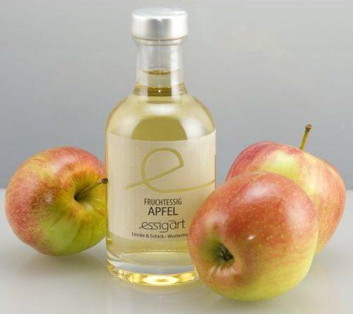 Verkostung – Bio-Fruchessig Apfel von essigart
