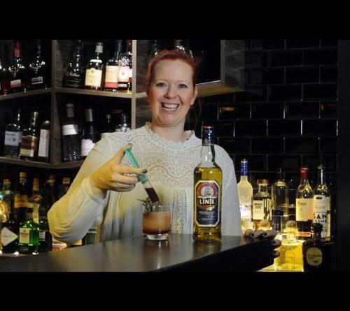 Cordula Langer ist Linie Aquavit Bartenderin des Monats Januar