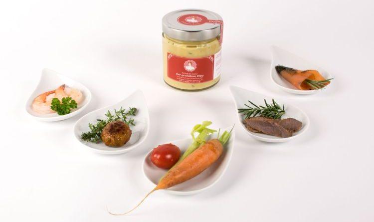 Mit dem Tutti Tasted Label versehen: Fräulein Luise Dipp
