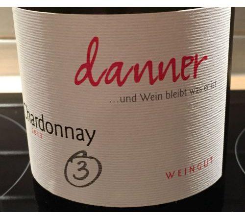 In der Tutti i sensi Verkostung – Danner Chardonnay Typ 3 trocken 2013