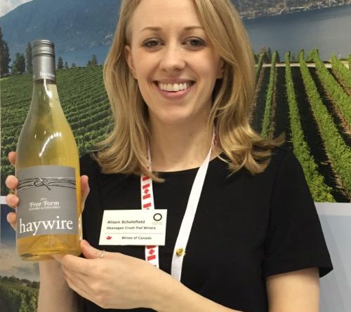 ProWein-Interview mit Alison Scholefield von Okanagan Crush Pad in British Columbia