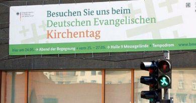 """Motto """"Essen wie Luther"""" auf dem Deutschen Evangelischen Kirchentag"""