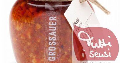Im Tutti i sensi Geschmackstest – Grosssauer Chili Pesto von Grossauer Edelkonserven