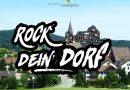 Rock' dein Dorf! –Videowettbewerb fürs Land mit großem Dorfkonzert als Gewinn