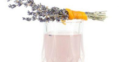 Rezept – Alkoholfreier Sektcocktail Lavendel 75