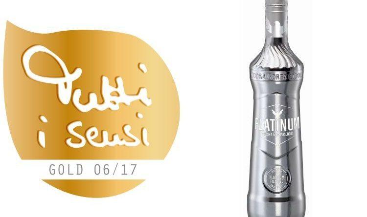 Tutti i sensi Gold für Platinum Wodka Gorbatschow