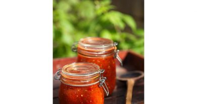 Rezept – Homemade Chunky Salsa by Sydney & Frances