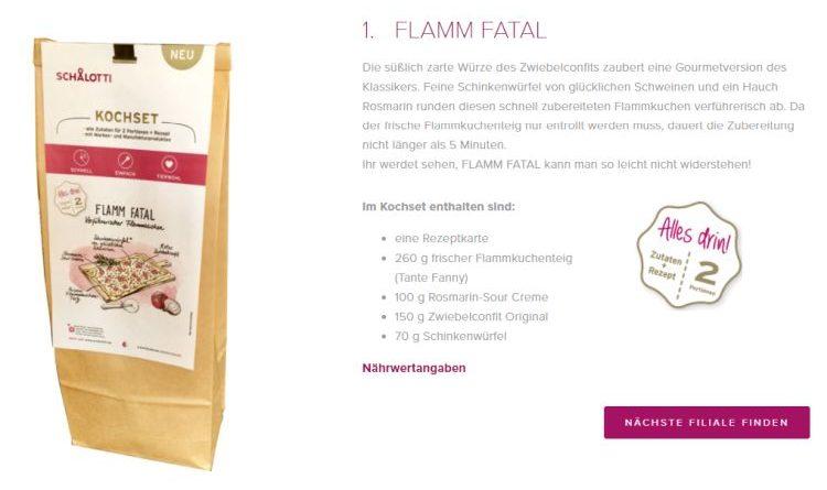 Im Test – Kochset Flamm Fatal von Schalotti