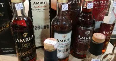 Indischer Rye Whisky bei Kirsch Whisky in Bremen entdeckt