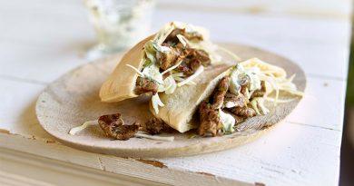 Rezept – Pitas mit Lammfleisch und Tzatziki