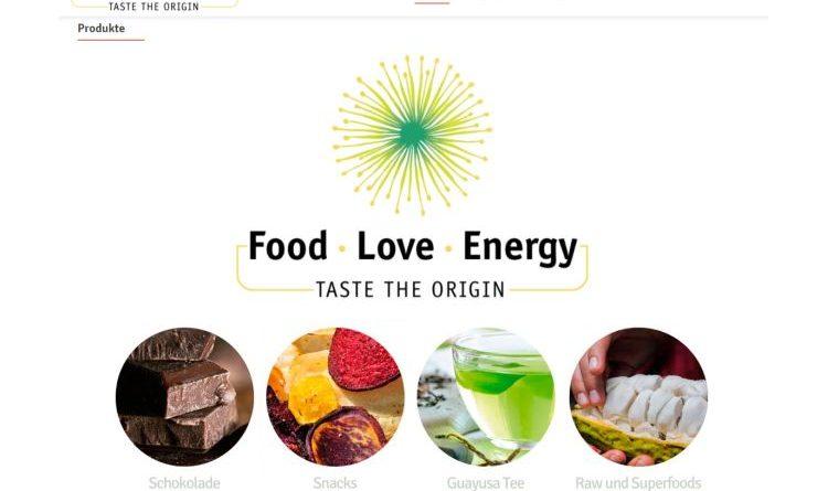 Neuer Internetauftritt von Food Love Energy