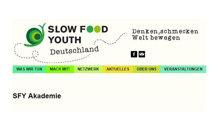 Slow Food Youth Akadamie – Bewerbungsphase für das Akademiejahr 2018 ist eröffnet