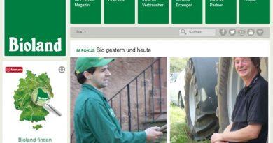 Bioland – Zukunftsperspektive in Bezug auf Bio-Fläche