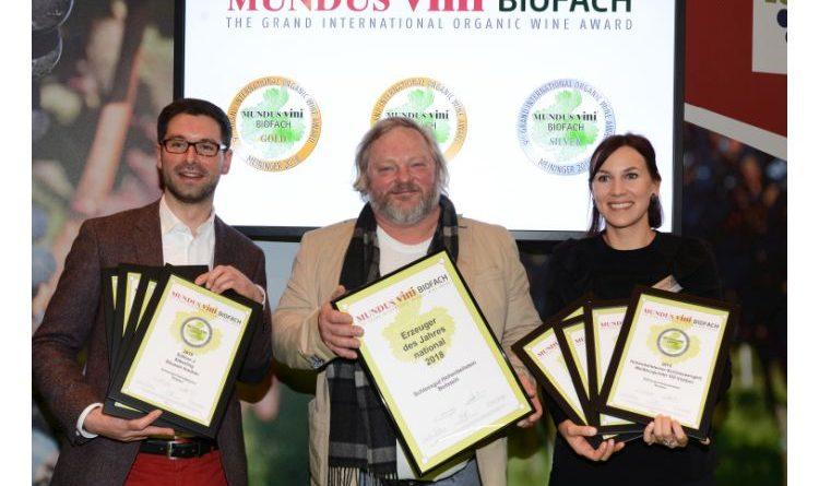 Schlossgut Hohenbeilstein ist bestes deutsches Bioweingut 2018!
