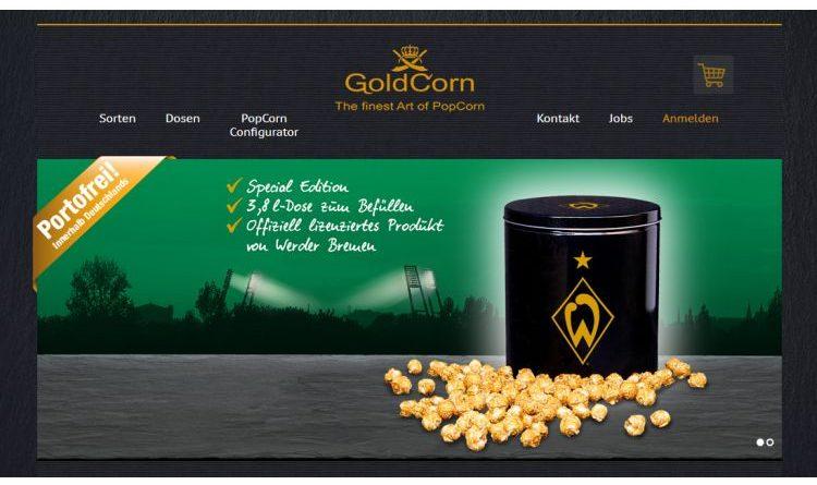 Frisches Popcorn von Goldcorn – von Karamell bis Sea Salt