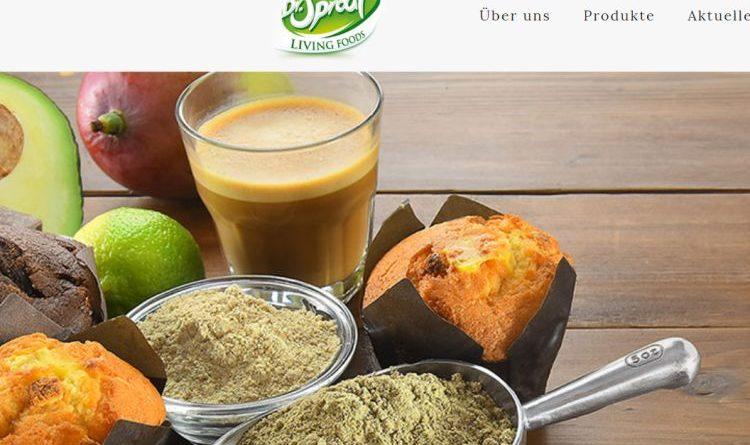 Gekeimte Saaten und anderes Superfood bei Dr. Sprout