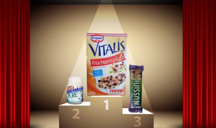Mogelpackung des Jahres 2017 ist das Vitalis Früchtemüsli von Dr. Oetker