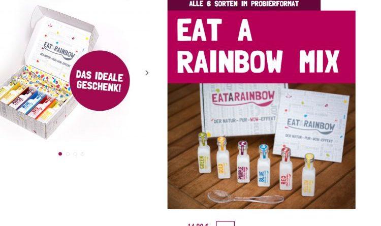 Regenbogen in der Flasche – Eat a Rainbow