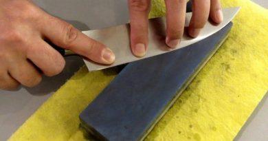 Messerschleifen lernen bei Feines De Rosa in München