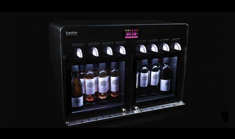 Bei Eurocave auf der ProWein – Tutti i sensi schaut sich den Vin au Verre 8.0 an