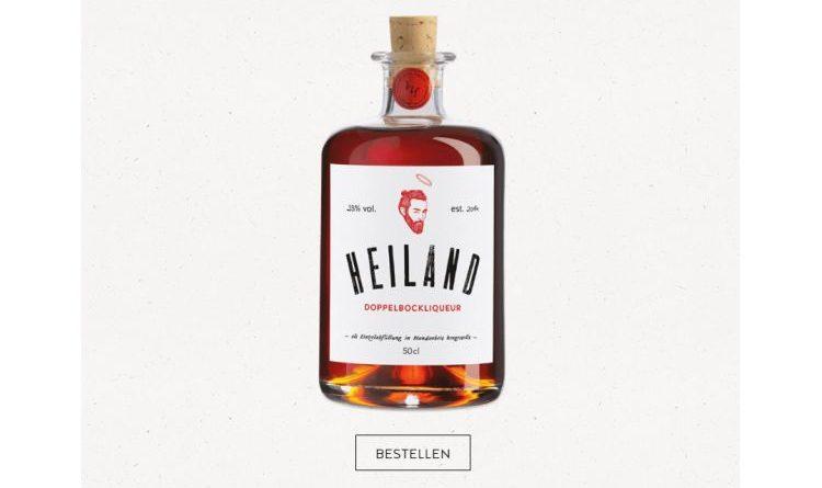 Heiland – Bierlikör aus dunklem Bier und fassgelagertem Rum