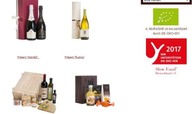 Unverwechselbare Originaleder italienischen Esskultur – Il Nuraghe Webshop