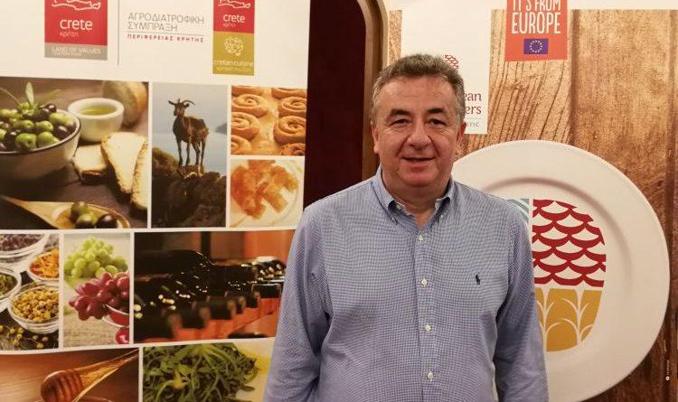 """Kreta und das Projekt """"The European Food Masters"""" – Tutti i sensi interviewt den Gouverneur von Kreta"""