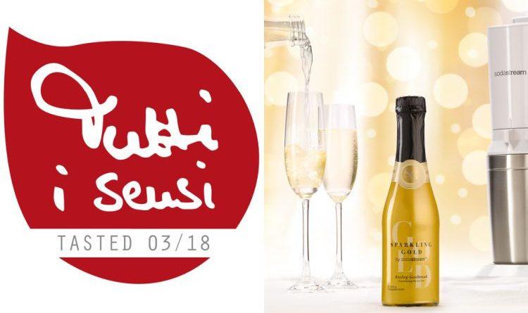 "Riesling-Sprudel-Sekt ""Sparkling Gold"" von Sodastream im Tutti i sensi Test"