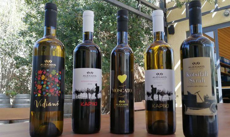 Besichtigung der Alexakis Winery in Heraklion, Kreta