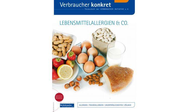 Sieben Tipps zum Einkauf bei Lebensmittelallergien –Verbraucher Initiative zum Lebensmittel-Allergietag am 21. Juni