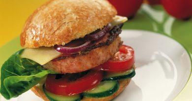 """Weltmeister-Burger """"Hessen Vesper mit Zwiebel"""""""