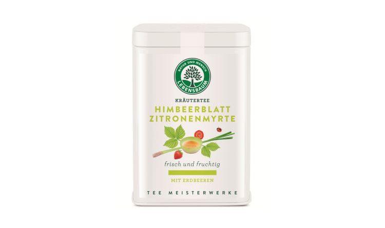 Neuer Tee von Lebensbaum – Himbeerblatt und Zitronenmyrte
