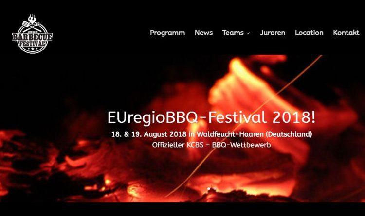 """Das 5. EUregio BBQ Festival – """"Der""""Pflichttermin für BBQ-Fans"""