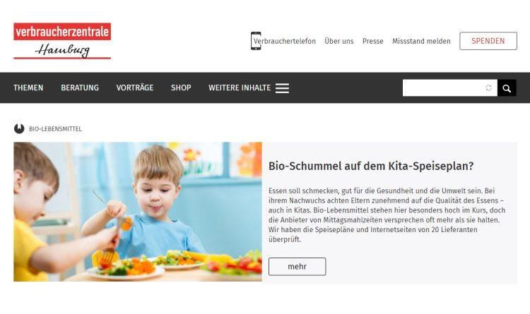 Bio-Essen für Kitas: Schummeln auf dem Speiseplan?