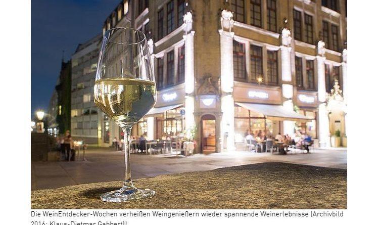 """""""WeinEntdecker werden"""" in vielen deutschen Städten"""