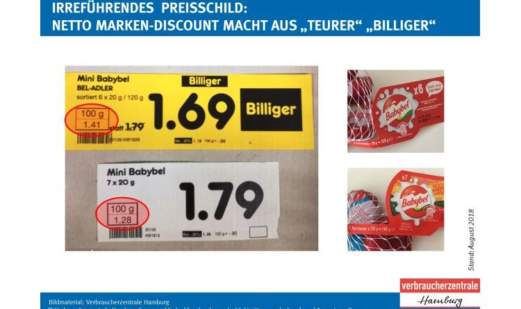 Verbraucherzentrale Hamburg mahnt Netto Marken-Discount erfolgreich ab