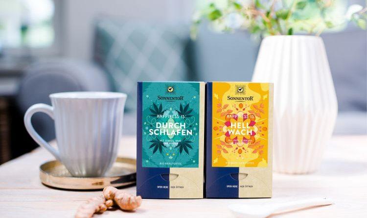 Die neuen Teesorten von Sonnentor sind verfügbar