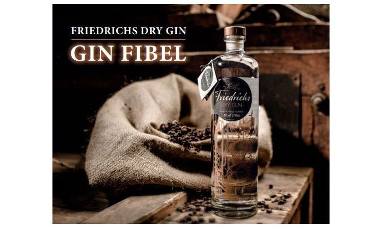 Friedrichs Dry Gin Fibel