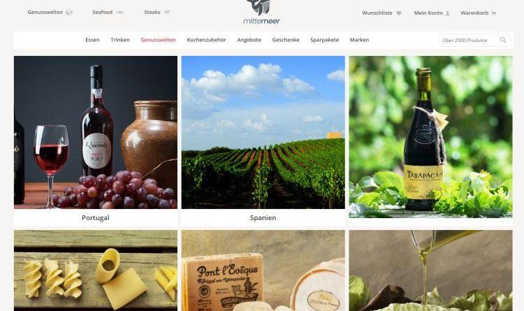 Mitte Meer – Online-Shop  für Spezialiäten und Küchenzubehör