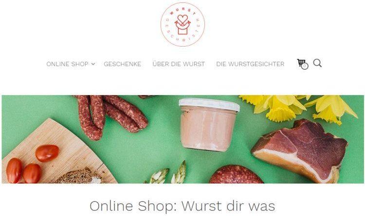 Wurstgeschwister – Online Fleisch und Wurstwaren einkaufen
