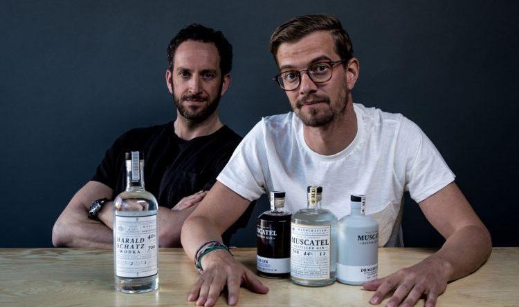 Muscatel Distilled Gin und Harald Schatz Wodka