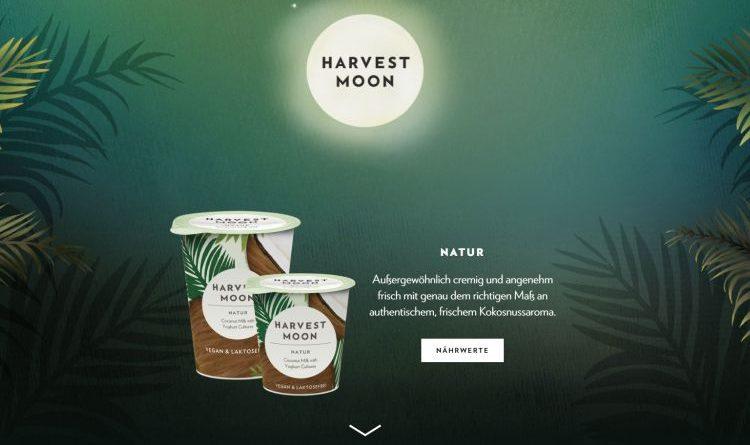 Harvest moon – Kokosnuss-Milch mit Joghurt Kulturen