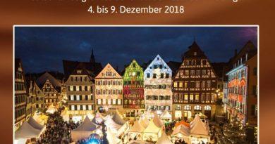 ChocolART, das Schokoladenfestival in Tübingen, vom 4-9. Dezember