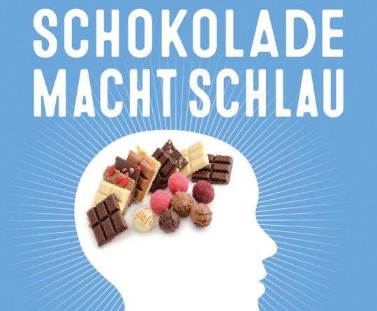 Schokolade macht schlau….