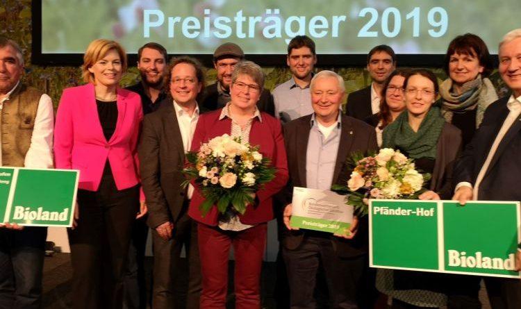 """""""Bundespreis Ökolandbau"""" für gleich zwei Bioland-Betriebe"""