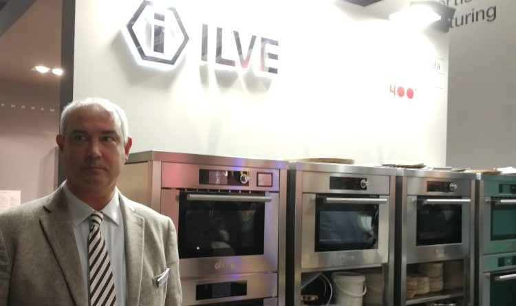 Ilve präsentiert die Colonna Stellata auf der Living Kitchen 2019 in Köln